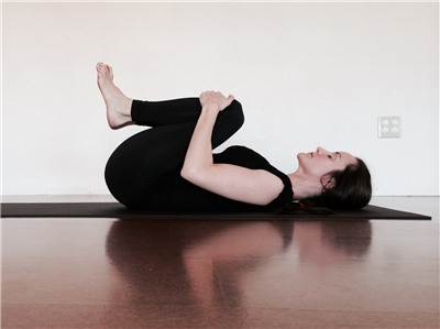 apanasana windrelieving or knees to chest pose  next yoga